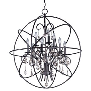 Willa Arlo Interiors Joaquin 9-Light Candle-Style Chandelier