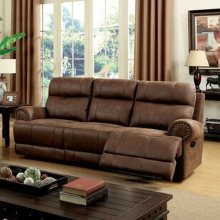 Gardin Leatherette Sofa Red Barrel Studio