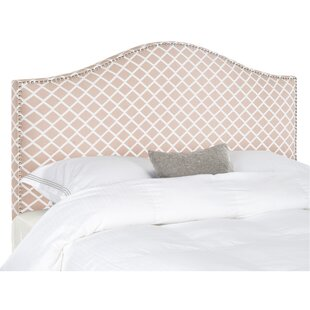 Lineberry Upholstered Panel Headboard by House of Hampton Best