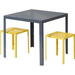 RAD Furniture Howard Series Steel Dining Table