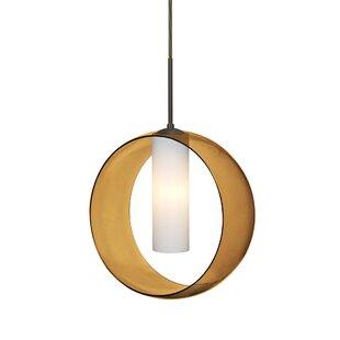 Brayden Studio Anthony 1-Light Globe Pendant