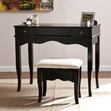 Brinson Vanity and Bench Set by Charlton Home®