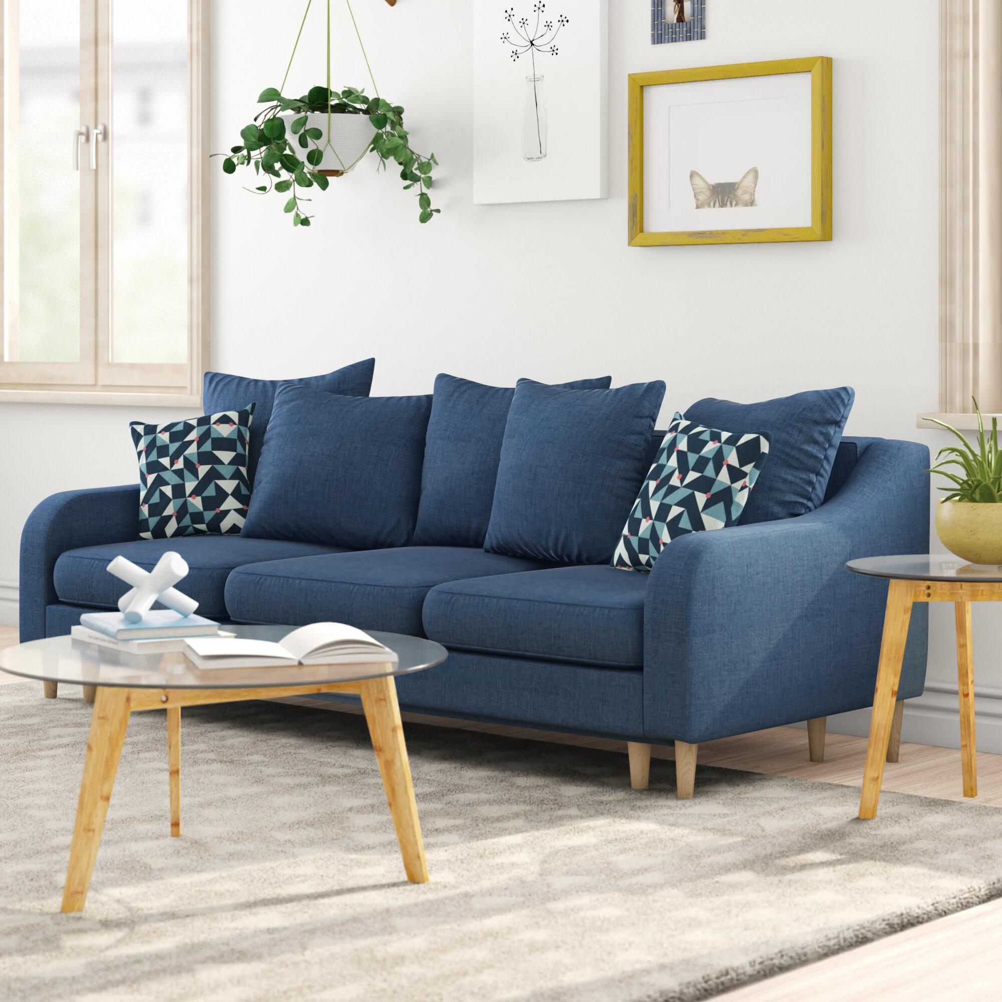 Tenley 3 Seater Clic Clac Sofa Bed