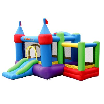 Inflatable Dream Castle Bounce House with Ball Pit Bounceland