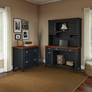 Resaca 3 Piece Office Set with Hutch