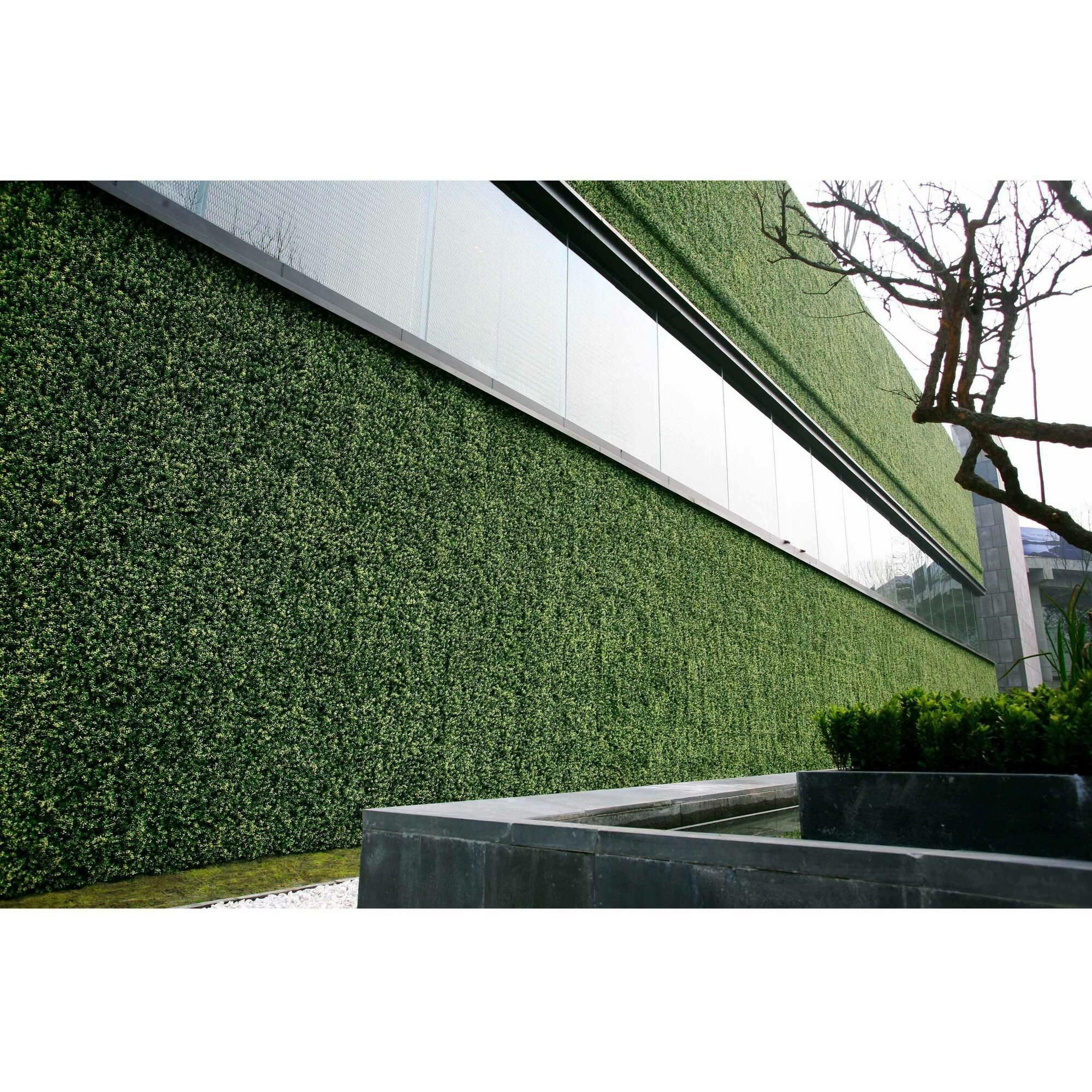 E Joy 1 7 Ft H X 1 7 Ft W Polyethylene Fence Panel Wayfair