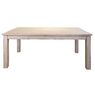 Gracie Oaks Coralie Solid Wood Dining Table