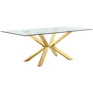 Woodland Dining Table Everly Quinn