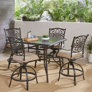 Ricci Traditions 5 Piece Bar Height Dining Set