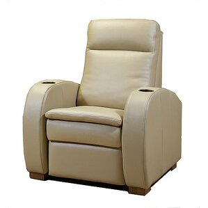 Python Leather Power Recliner by Jaymar