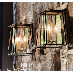Walker 3-Light Outdoor Wall Lantern