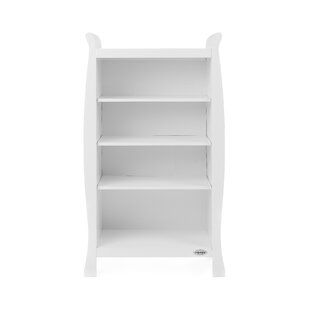 Stamford Sleigh 130cm Bookcase By Obaby