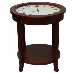 Urban Designs Clock End Table