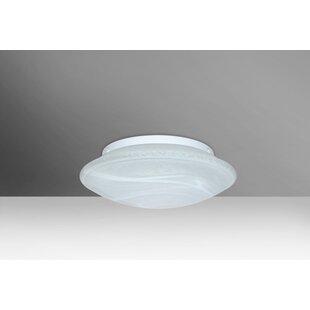 Besa Lighting Sola 1-Light Outdoor Flush Mount
