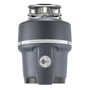 Evolution Compact 3/4 HP Continuous Feed Garbage Disposal with Soundseal Technology