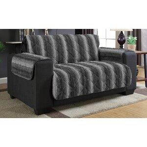 Luxury Box Cushion Loveseat Slipcover