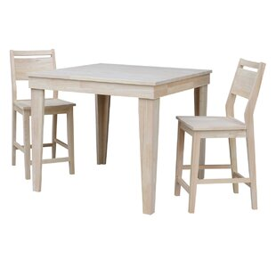 Theodosia 3 Piece Pub Table Se..