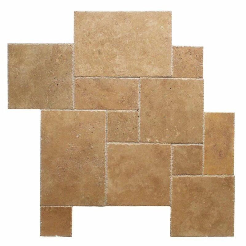 Tile Mosaic Depot Travertine Marble Look Wall Floor Tile Wayfair