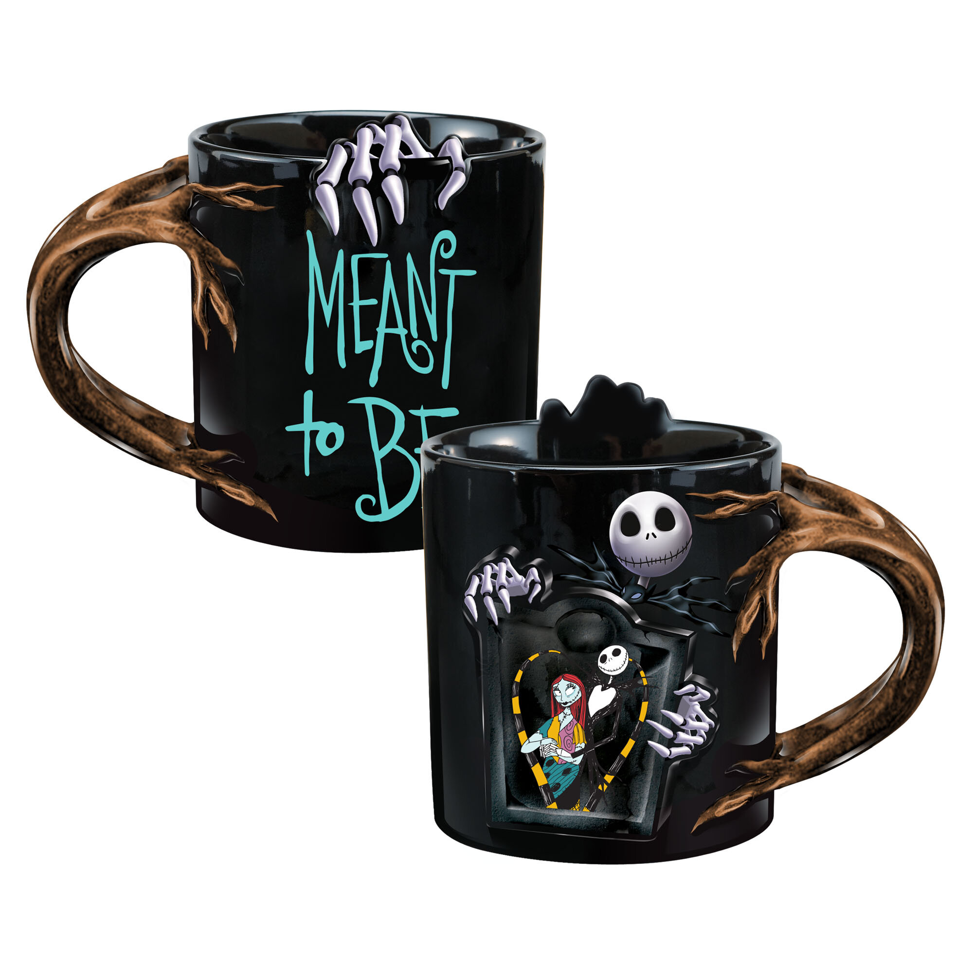 Nightmare Before Christmas Coffee Mug.Vandor Nightmare Before Christmas Heat Reactive Coffee Mug