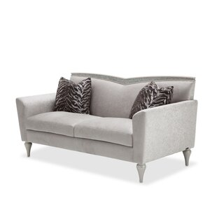 Affordable Melrose Plaza Loveseat by Michael Amini Reviews (2019) & Buyer's Guide