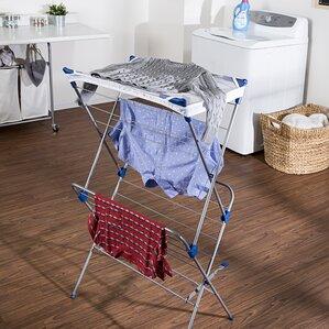two tier mesh top drying rack