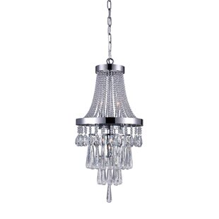 Vast 3-Light Empire Chandelier by CWI Lighting