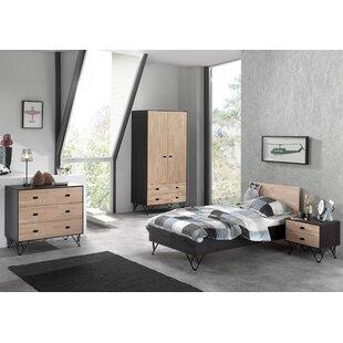 Elder 4 Piece European Single Bedroom Set By Isabelle & Max