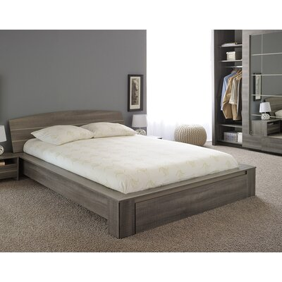 split queen platform bed