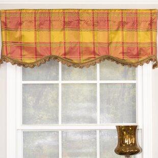 Daphne Silk Provence 50 Window Valance by RLF Home