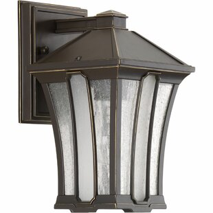 Reviews Cerre 1-Light Outdoor Wall Lantern By Loon Peak