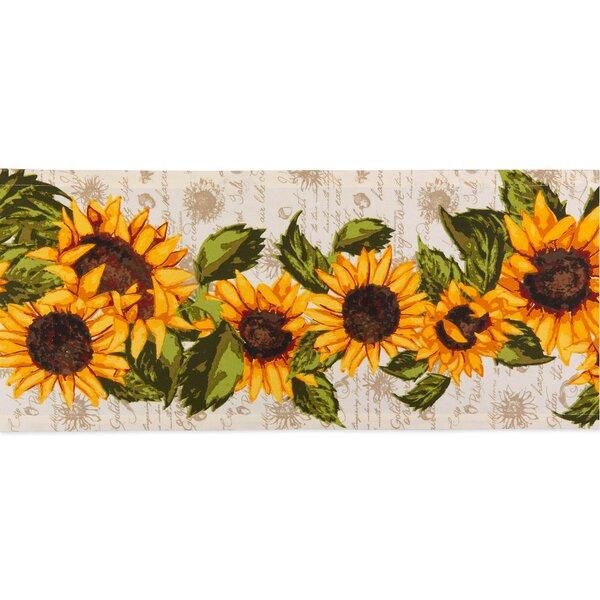 Fleur De Lis Living Johansen Floral 100 Cotton Table Runner Reviews Wayfair