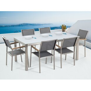 Anguilla 6 Seater Dining Set By Sol 72 Outdoor
