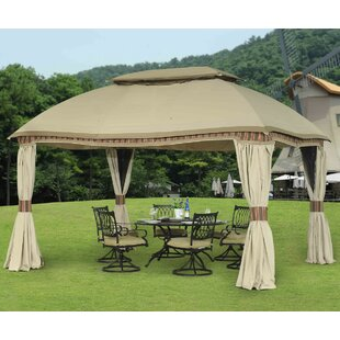 Curtain for Domed Gazebo by Sunjoy