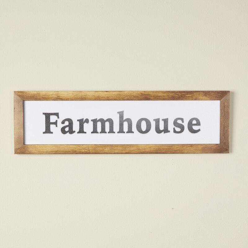 Farmhouse Mantle Decor