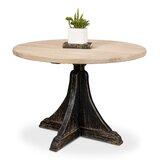 Pine Solid Wood Dining Table by Sarreid Ltd