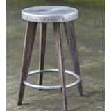 Rocha Hammered Top 24.5 Bar Stool by Loon Peak®