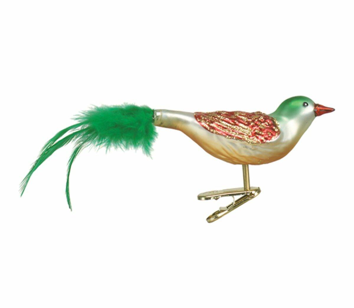 Old World Christmas Bird Clip Ornament Wayfair