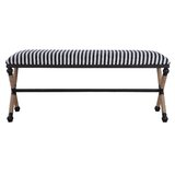 Eoin Metal Bench by Longshore Tides