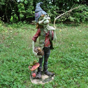 Chalmers Extra Large Pixie Boy Statue By Happy Larry