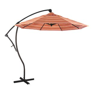 Capri 9' Cantilever Sunbrella Umbrella by Sol 72 Outdoor