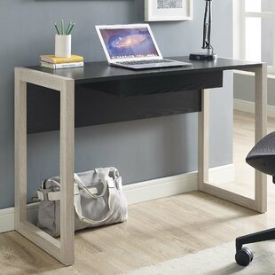 Rohan Rectangular Desk by Wrought Studio Great price