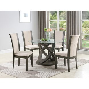 Hymel 5 Piece Dining Set by Orren Ellis