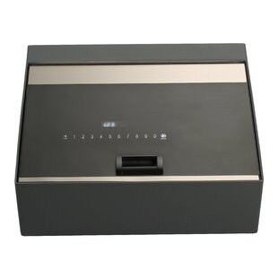 QNN Safe Electronic Lock Commercial Cash Box 0.3 CuFt
