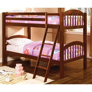 A&J Homes Studio Heather Twin Over Twin Bunk Bed