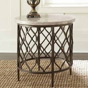 Akbar End Table by World Menagerie