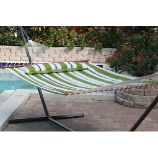 Hibiscus Premium Reversible Two Person Cotton Hammock