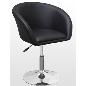Mcphee Adjustable Swivel Barrel Chair by Wade Logan