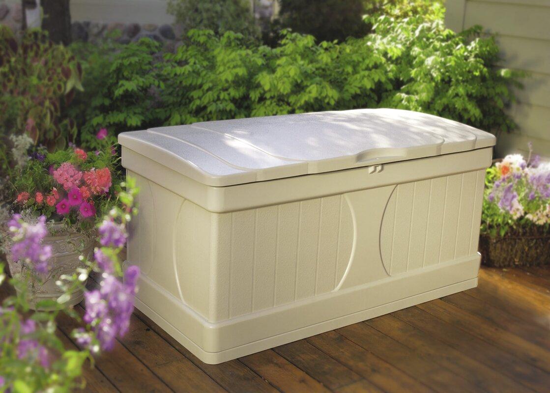 Suncast 99 Gallon Resin Deck Box
