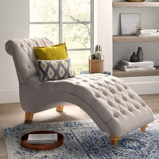 Mistana Don Fabric Chaise Lounge