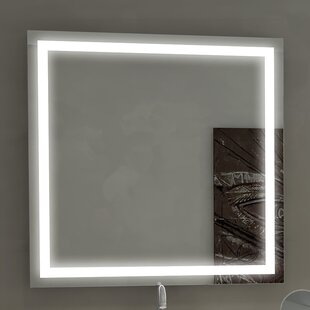Price comparison Harmony Illuminated Bathroom / Vanity Wall Mirror By Paris Mirror